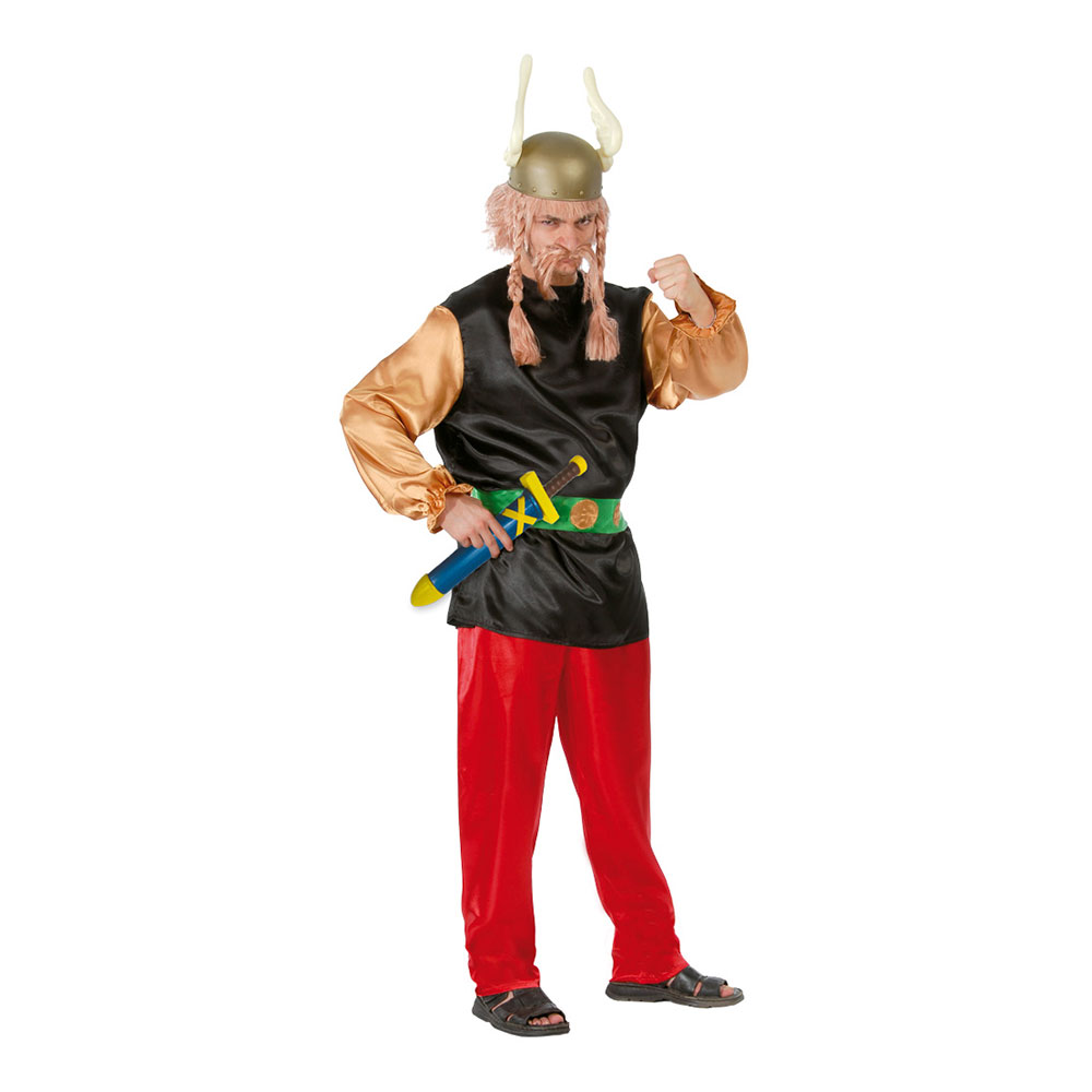 Gallisk Viking Maskeraddräkt