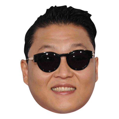 Gangnam Style Pappmask