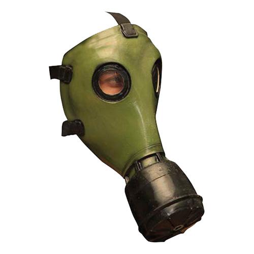 Gasmask Grön