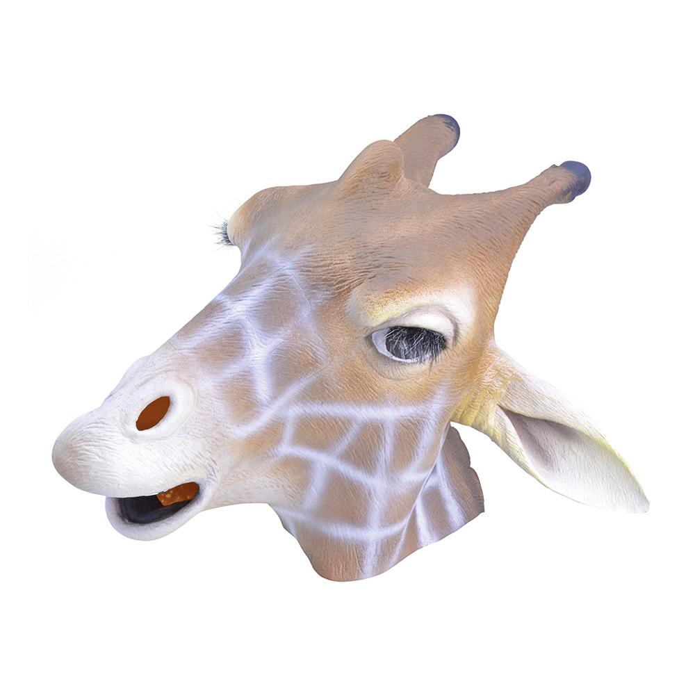 Giraffmask i Gummi
