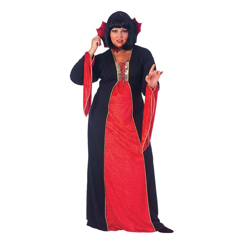 Gotisk Vampyr Plus-size Maskeraddräkt