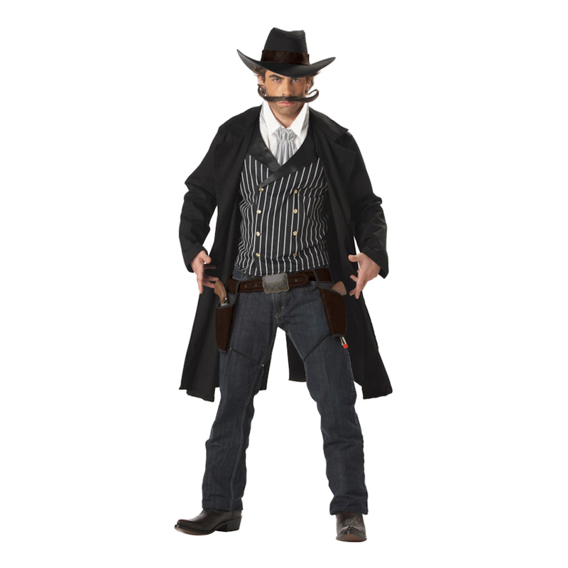 Gun Fighter Cowboy Maskeraddräkt