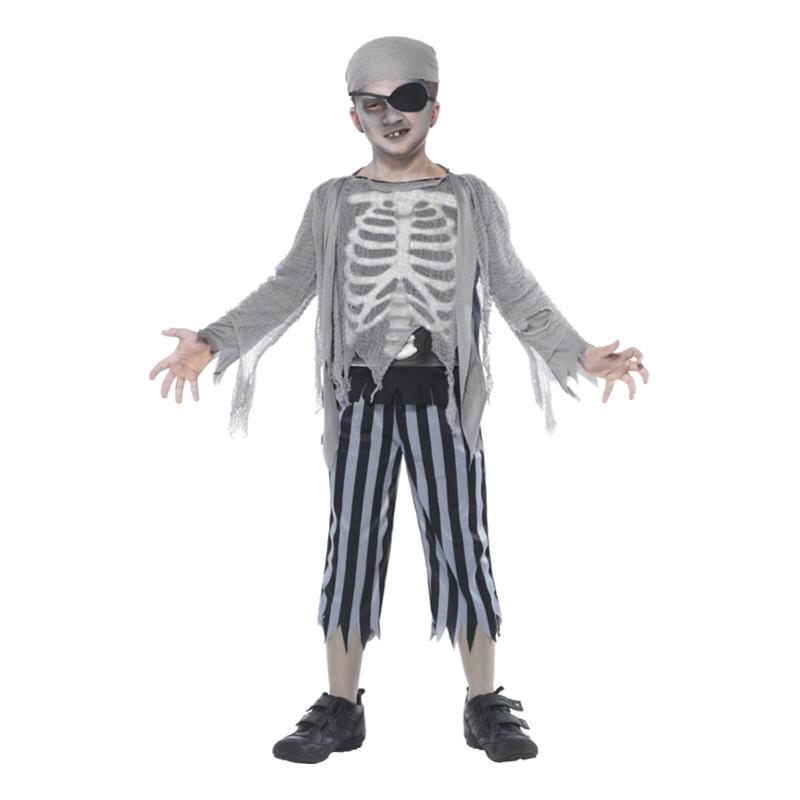 Halloweenpirat Barn Maskeraddräkt