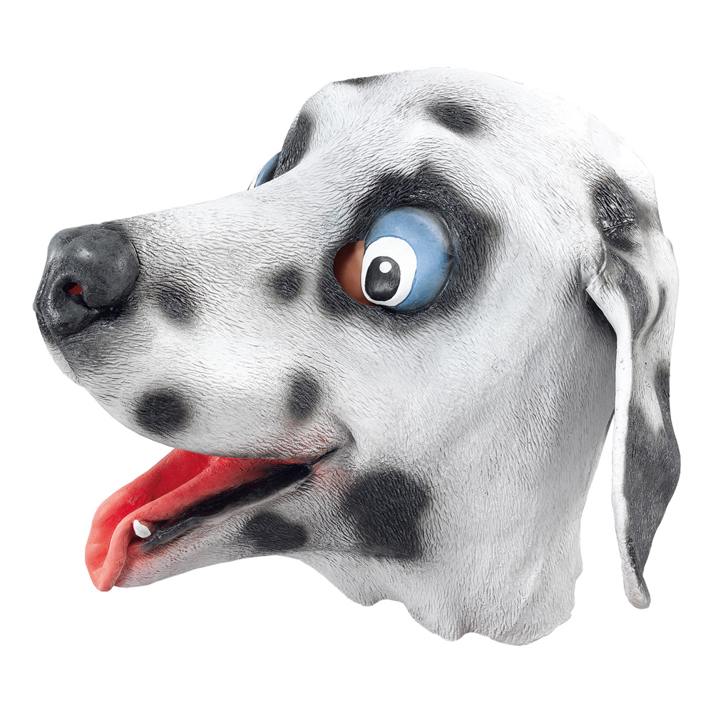 Hundmask i Gummi