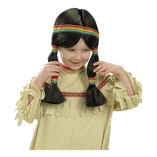 Indianflicka Peruk