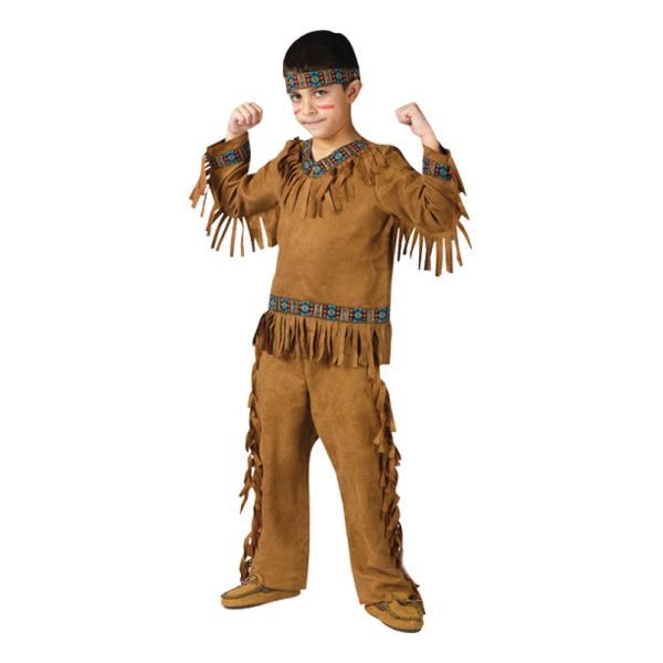 Indianpojke Barn Maskeraddräkt