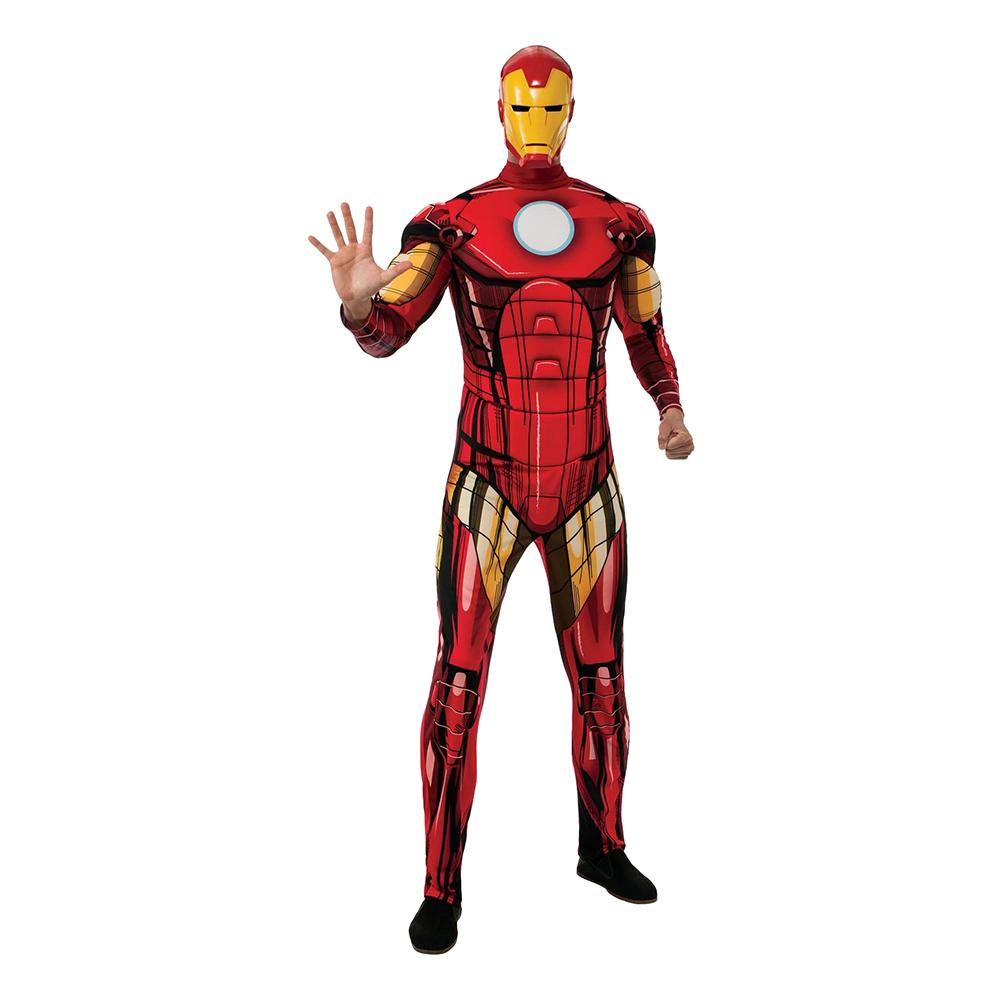 Iron Man Deluxe Maskeraddräkt