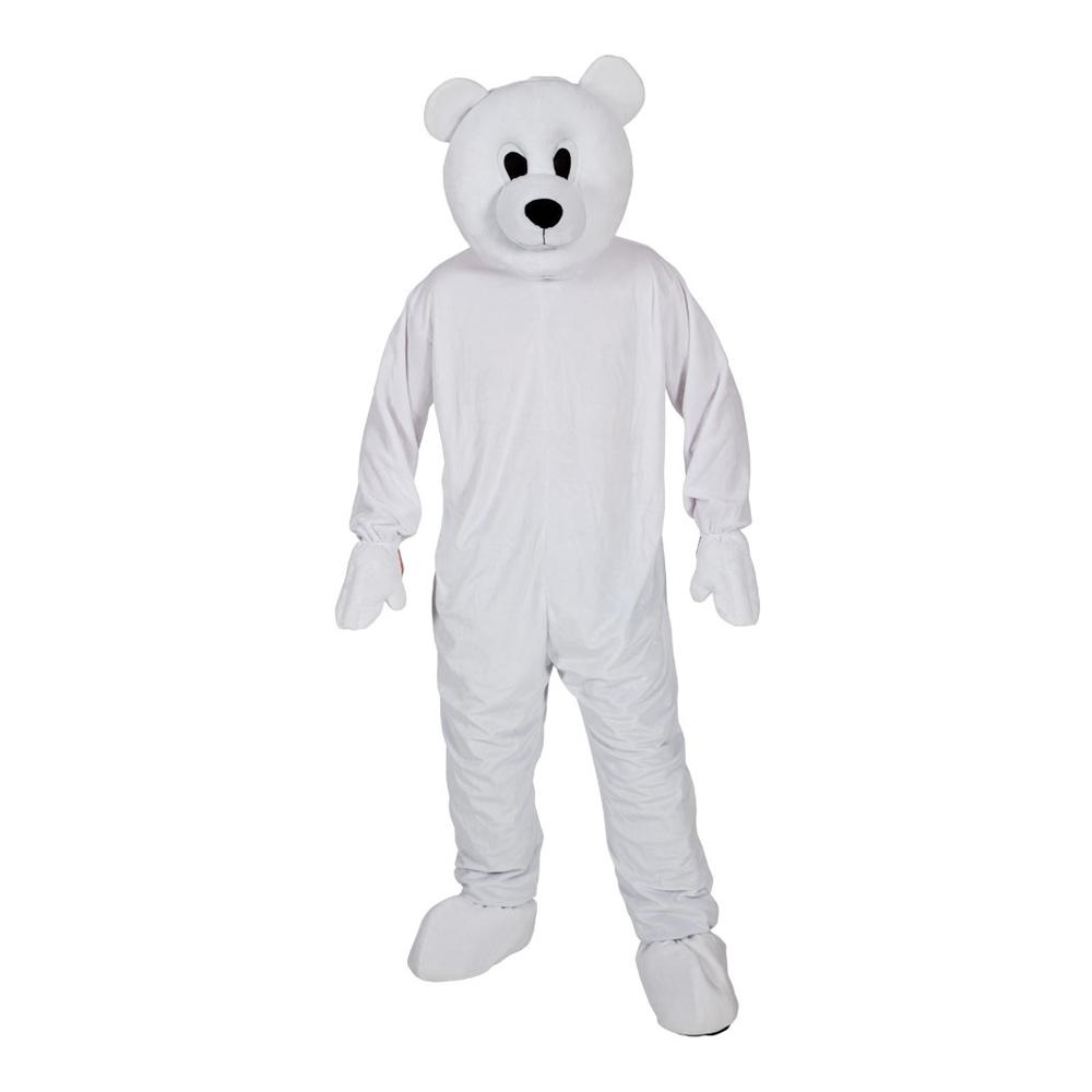 Isbjörnsmaskot Maskeraddräkt