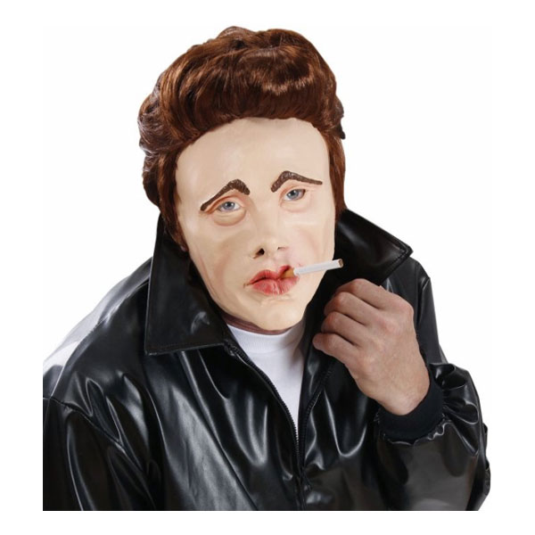 James Dean Mask med Hår