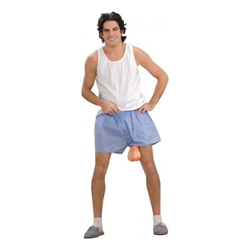 Shorts med Pung