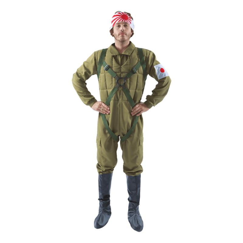 Kamikaze Pilot Maskeraddräkt