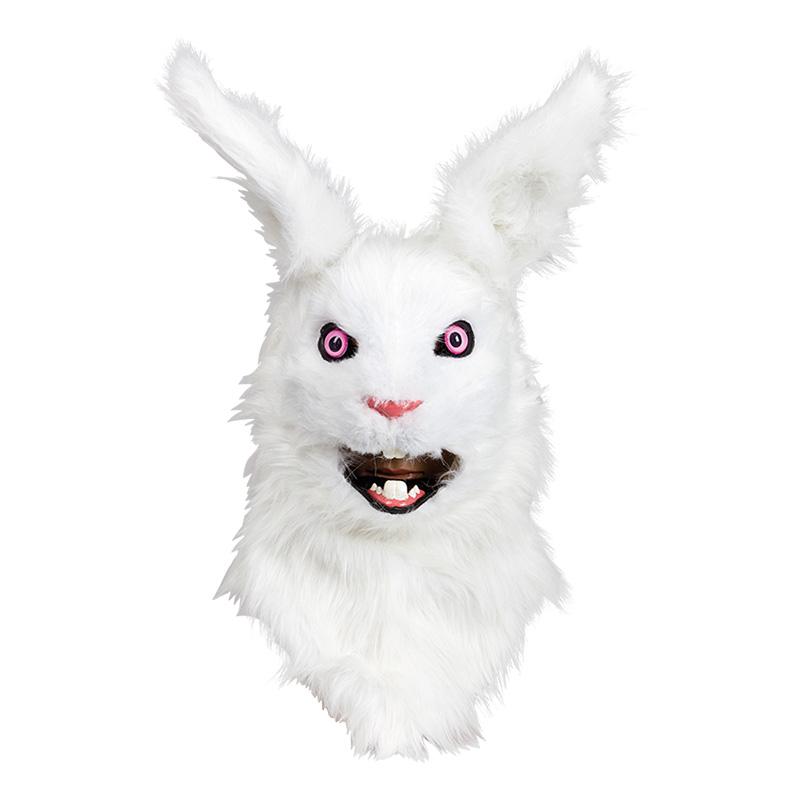 Kaninmask med Rörliga Käkar Deluxe