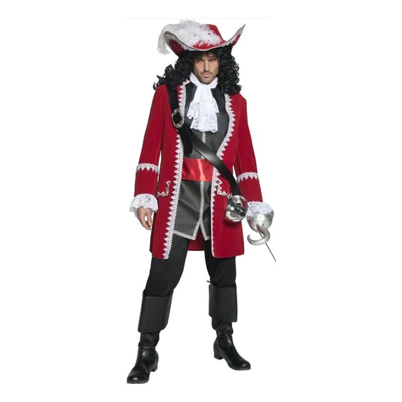 Kapten Krok Maskeraddräkt