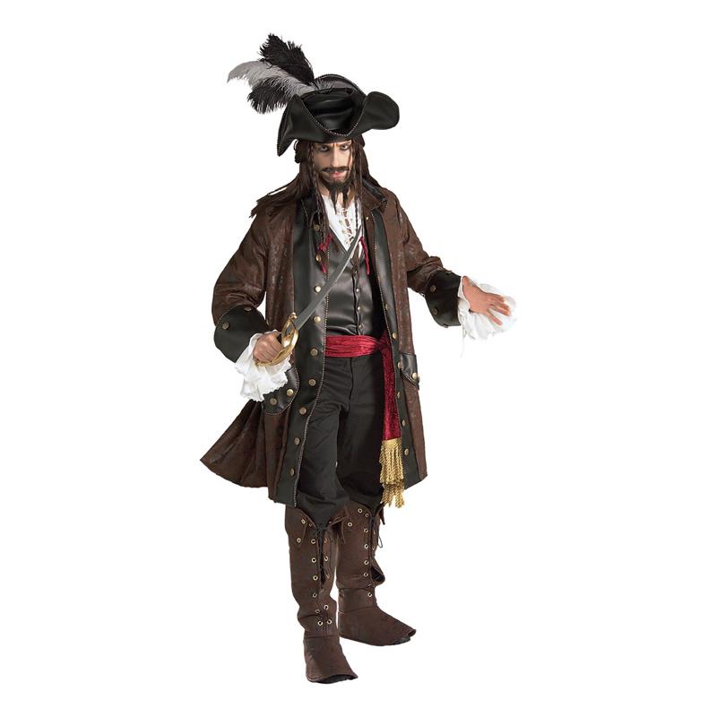 Karibisk Pirat Deluxe Maskeraddräkt