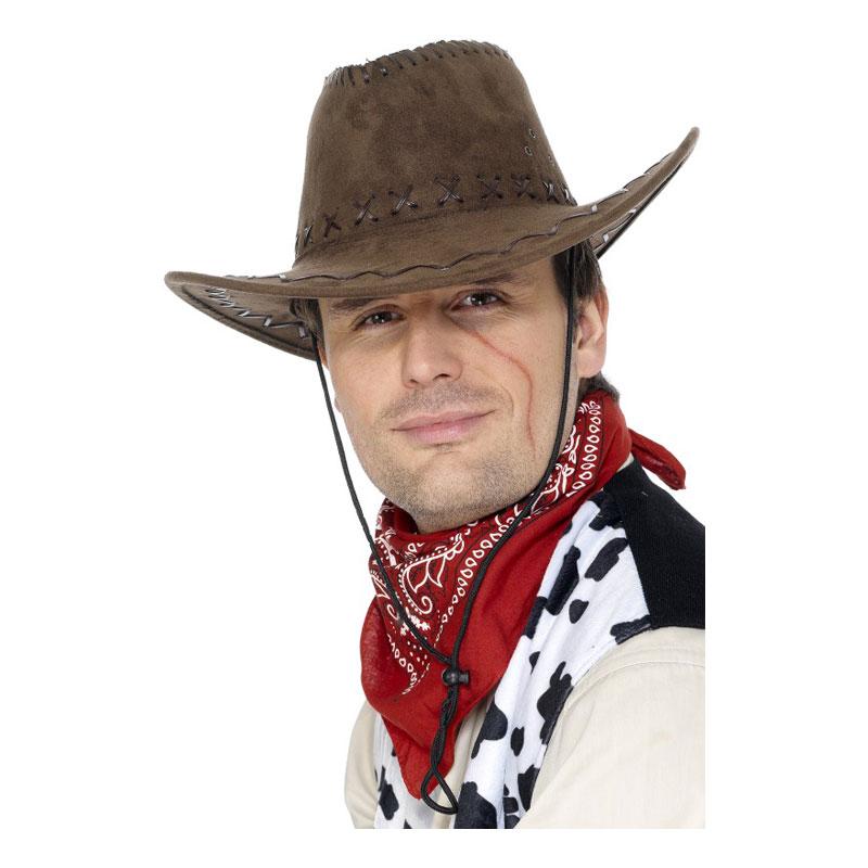 Klassisk Cowboyhatt Brun