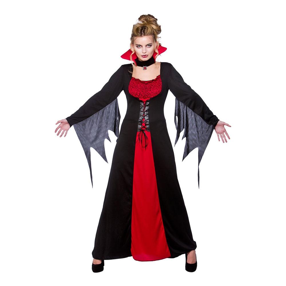 Klassisk Vampyra Maskeraddräkt