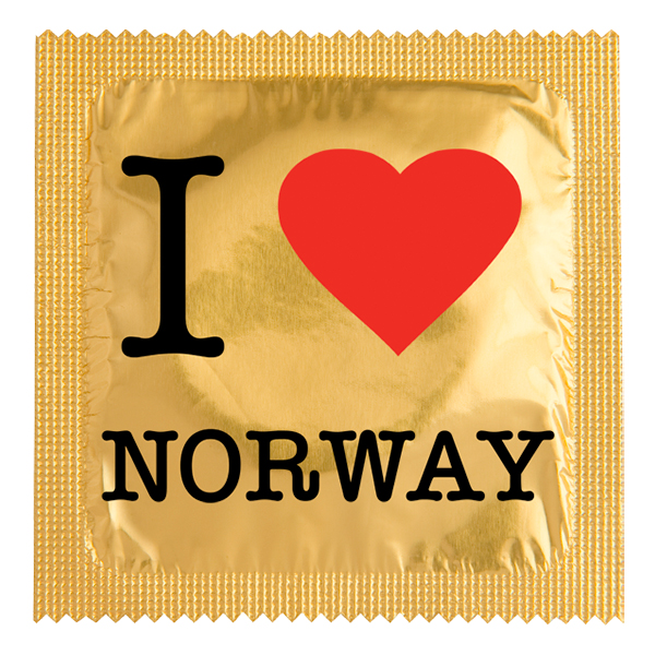 Kondom I Love Norge