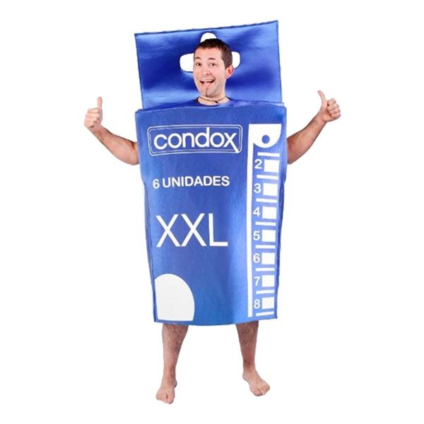 Kondomer Maskeraddräkt