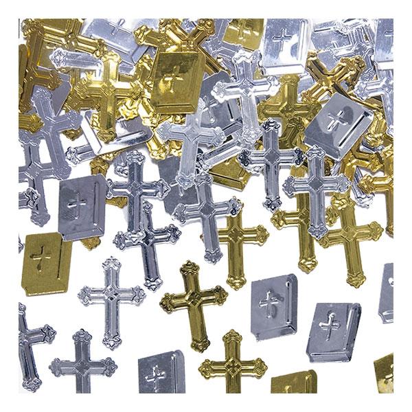 Konfetti Metallic Bibelkors