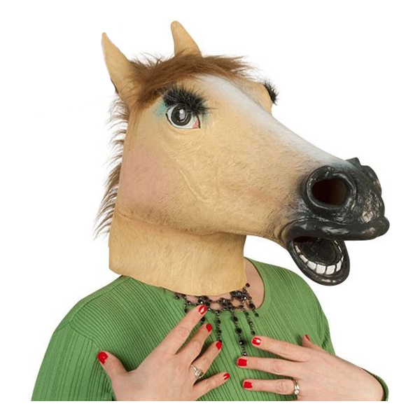 Kvinnlig Hästmask