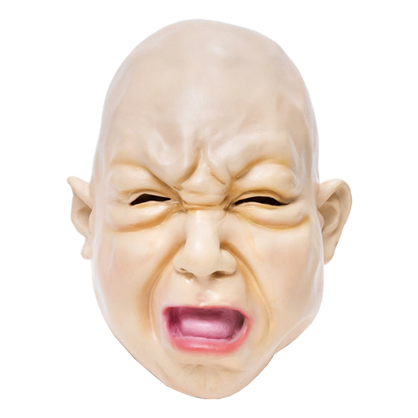 Ledsen Bebis Mask