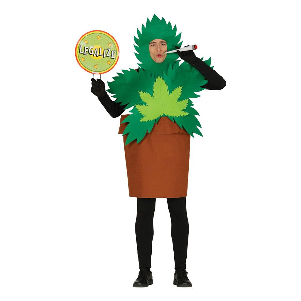 Marijuanaplanta Maskeraddräkt