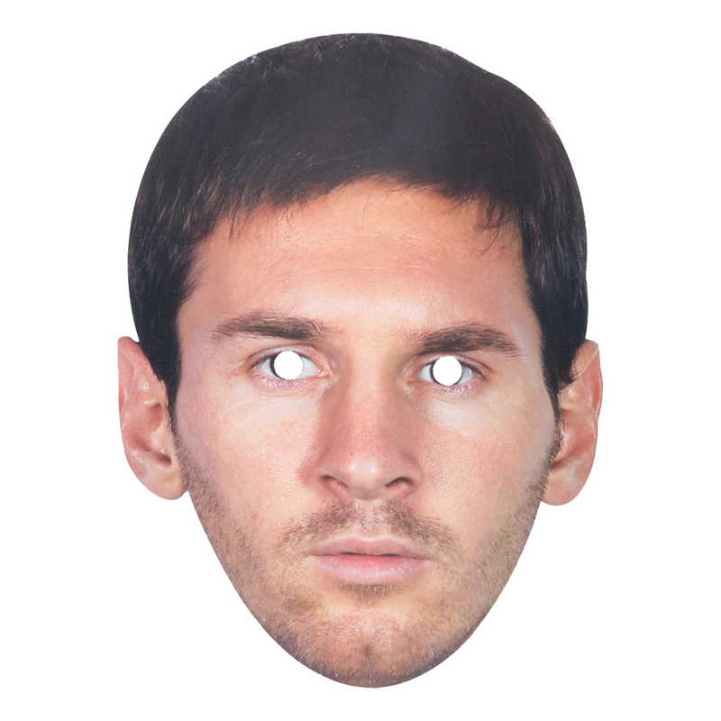 Messi Pappmask