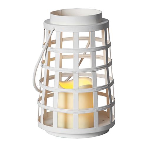 Metalllykta LED Vit