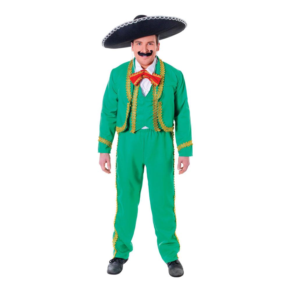 Mexikansk Man Maskeraddräkt