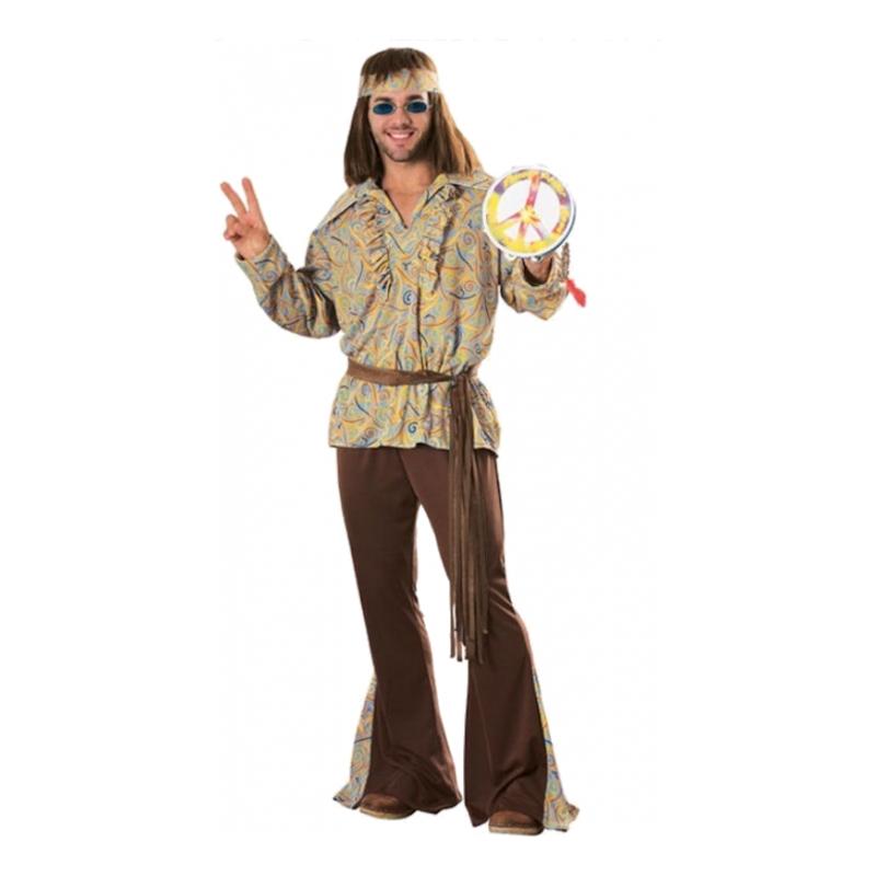 Mod Marvin Hippie Maskeraddräkt