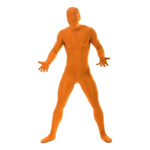 Morphsuit Orange Maskeraddräkt