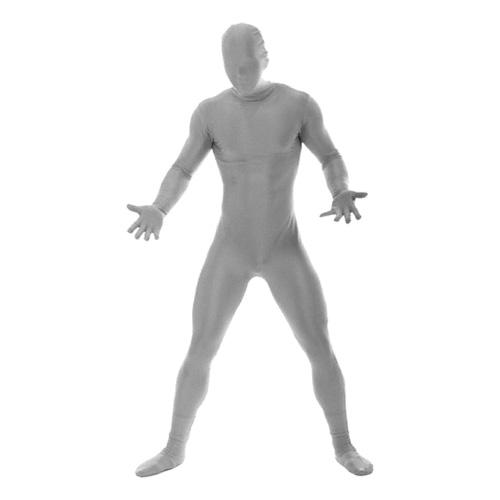 Morphsuit Silver Maskeraddräkt