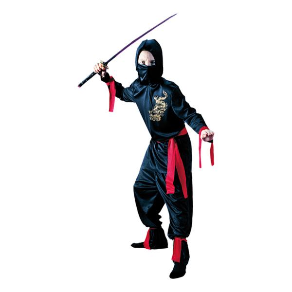 Ninja Barn Maskeraddräkt