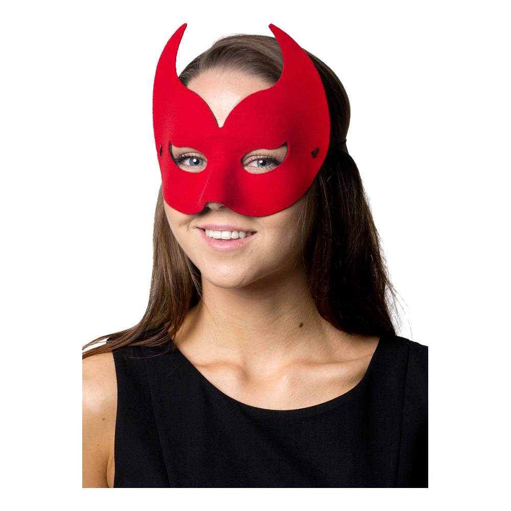 Ögonmask Diavolo Röd