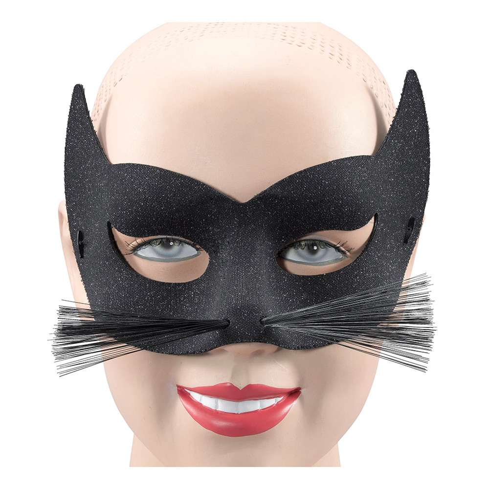 Ögonmask Katt med Morrhår