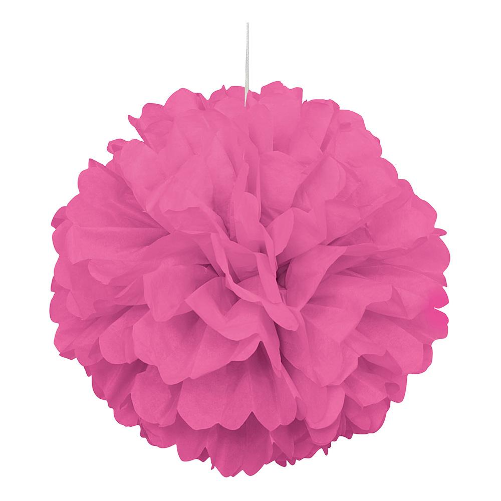 Pappersboll rosa h ngande dekoration for Dekoration rosa