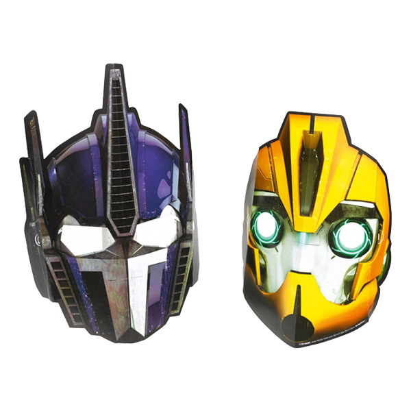 Pappmasker Transformers 2