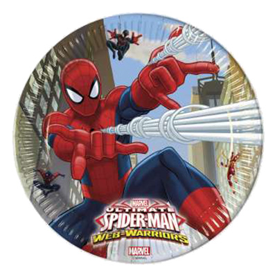 Papperstallrikar Ultimate Spiderman