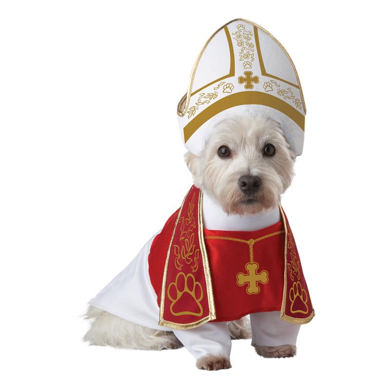Påve Hund Maskeraddräkt