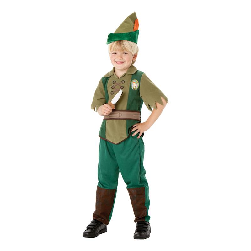 Peter Pan Barn Maskeraddräkt