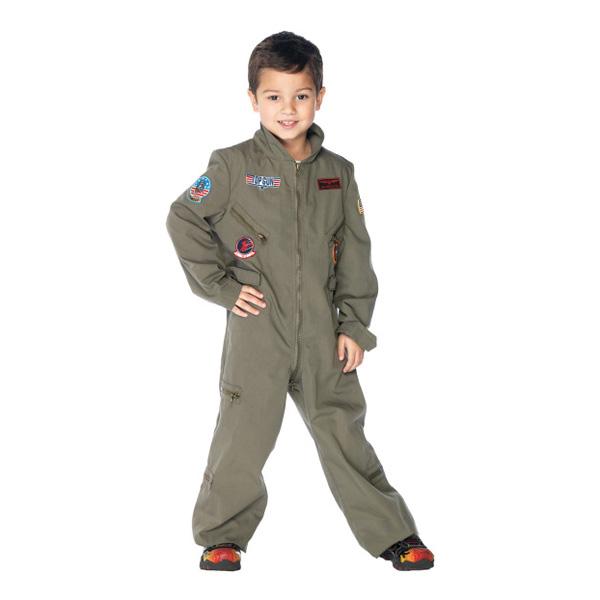 Pilot Barn Maskeraddräkt