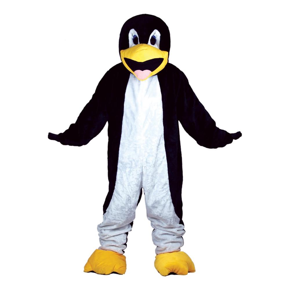 Pingvinmaskot Deluxe Maskeraddräkt
