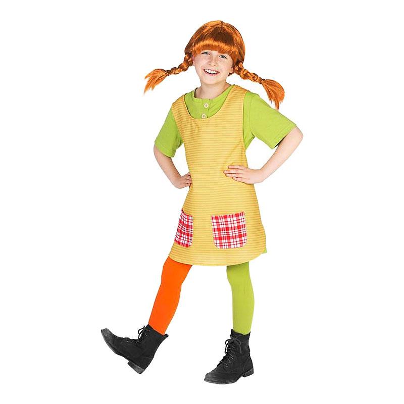 Elskede Pippi Langstrømpe Børnekostume - Partyking. dk YT97