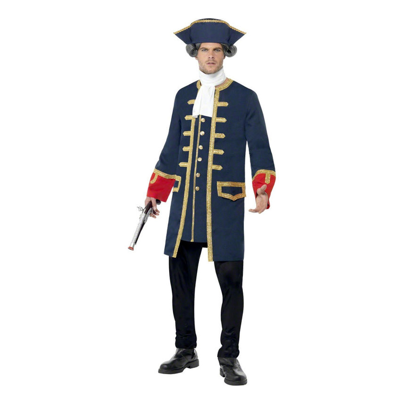 Piratkapten Maskeraddräkt