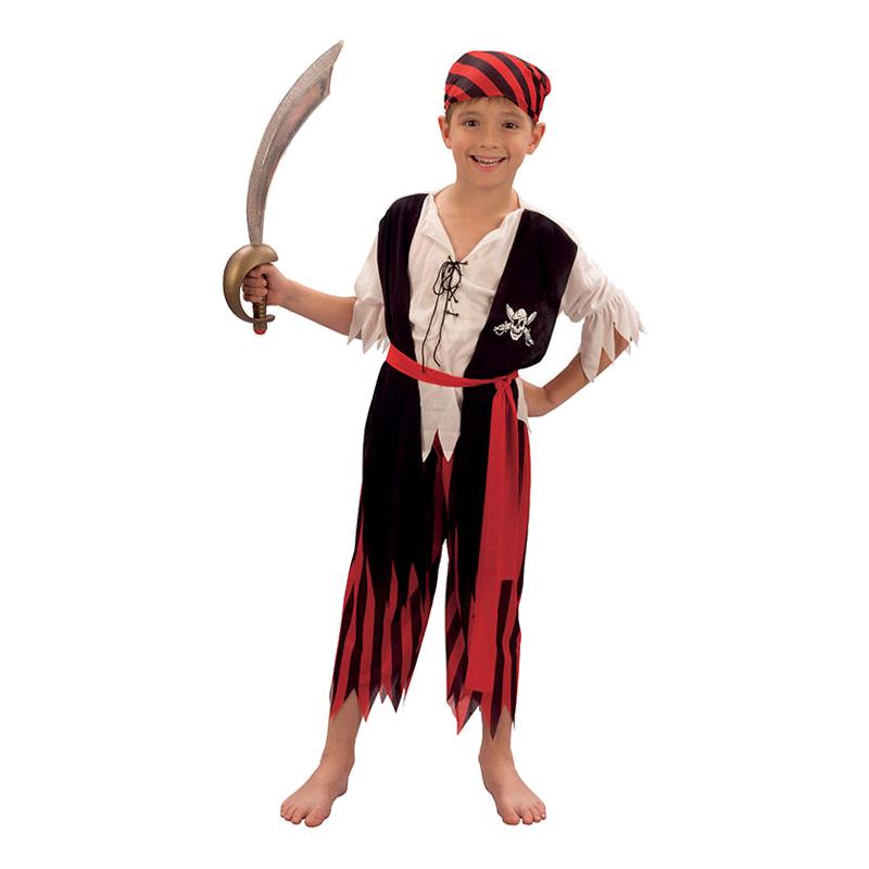 Piratpojke Barn Maskeraddräkt