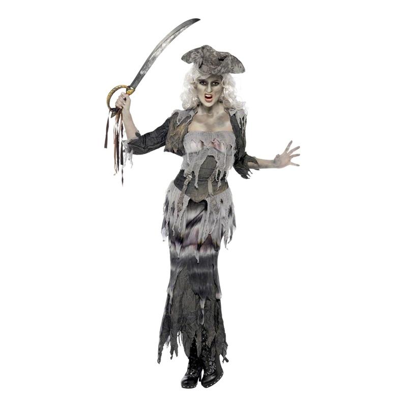 Pirattjej Halloween Maskeraddräkt
