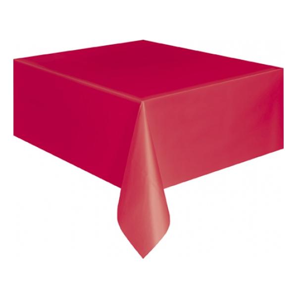 Plastduk Röd