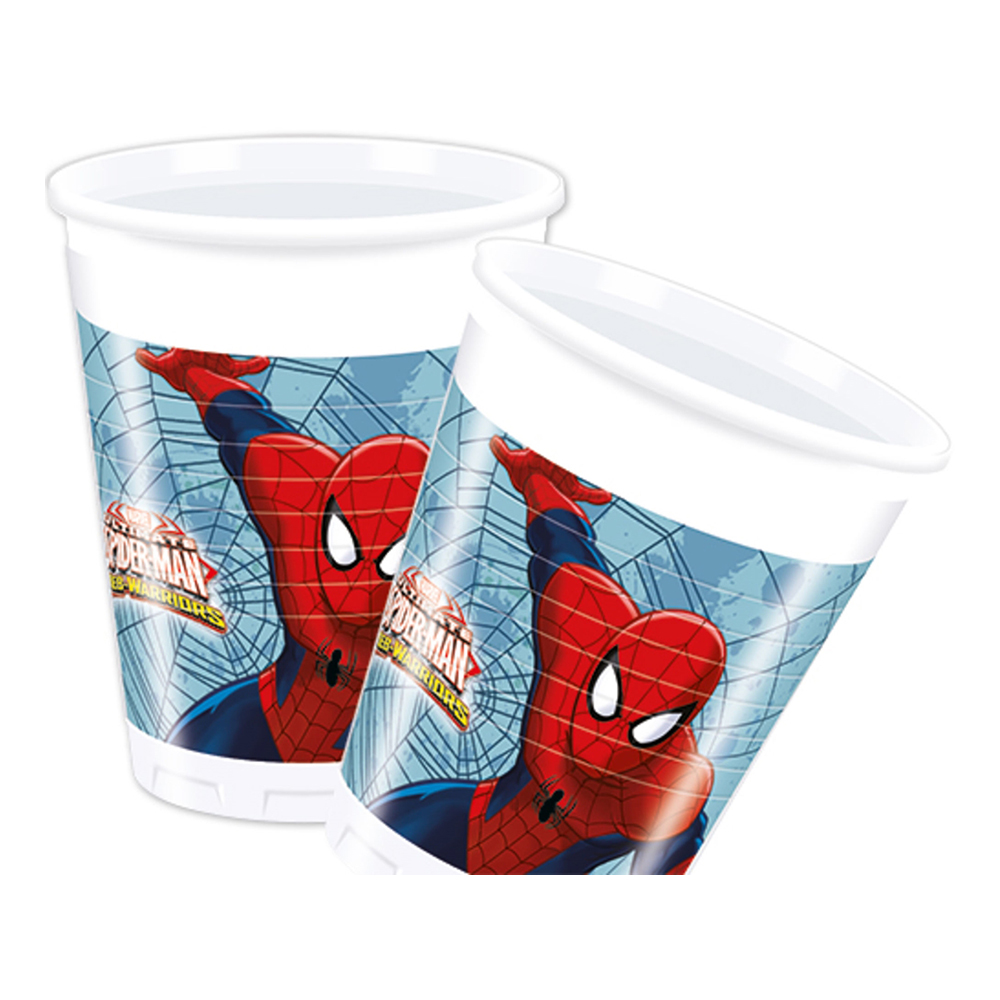 Plastmugg Spiderman
