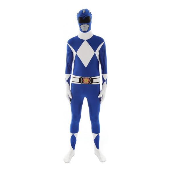 Power Ranger Blå Morphsuit