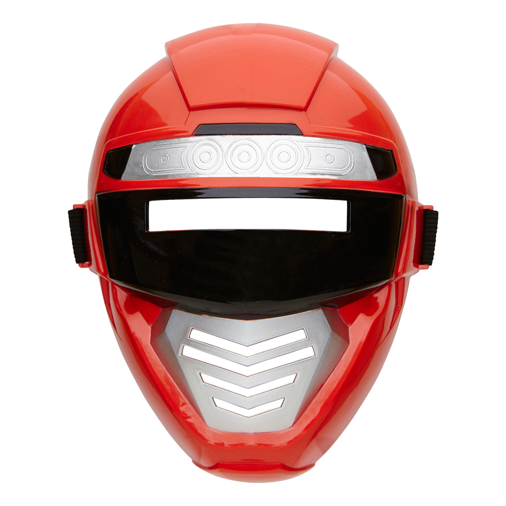 Power Rangers Röd Mask Barn